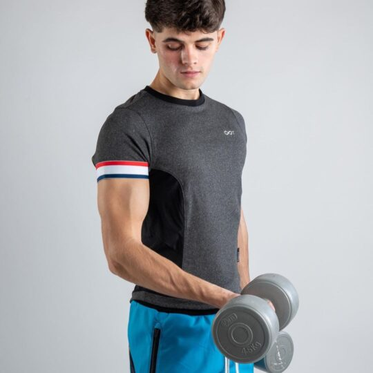 Mens Fitted Half Sleeve T Shirt