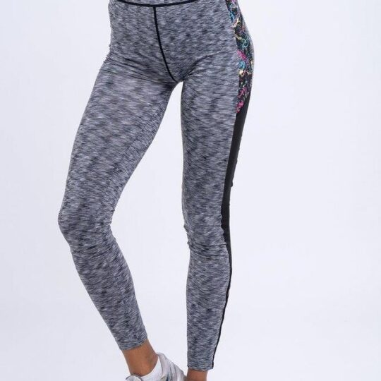 Light Lux Leggings with a Splash of Sass
